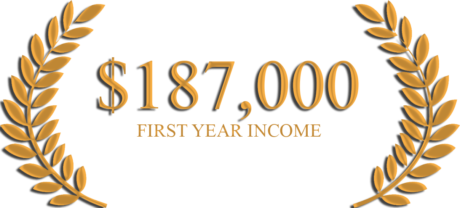 first year income