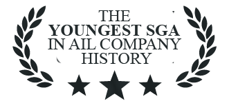 Youngest SGA in AIL company history